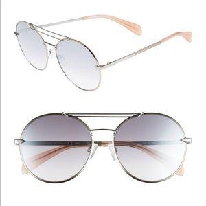 Rag & Bone NWT 59mm Round Sunglasses